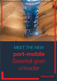 Front cover of Siwertell Port-Mobile unloader brochure