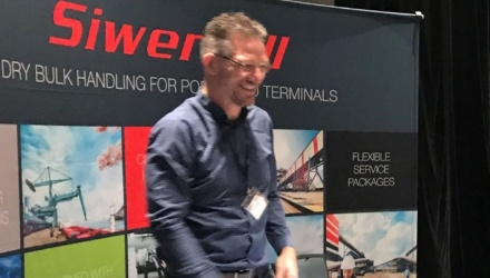 Siwertell exhibition stand and sales manager at MVTTC USA