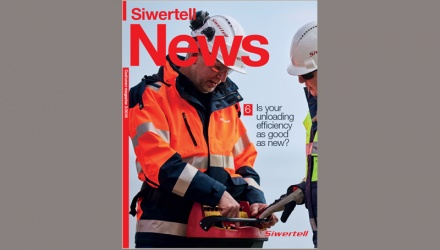 Coverpage to Siwertell News