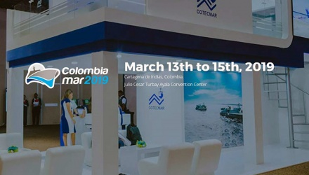 Event stand at Colombia mar 2019